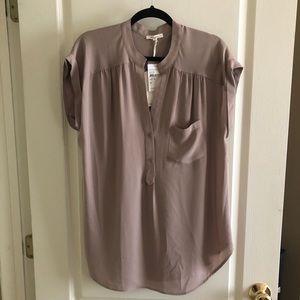 Button front blouse